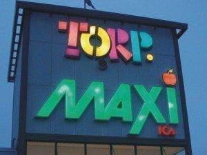 Torp Maxi Işıklı Reklam