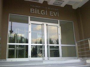 Küçük Çekmece Belediyesi Bilgi Evi Tabela